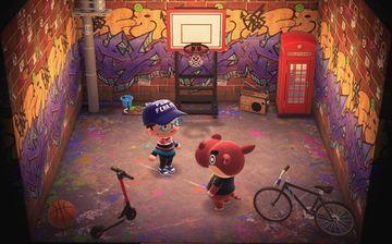 Interior of Biff's house in Animal Crossing: New Horizons