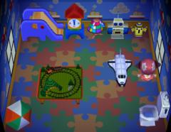 Roald's house interior