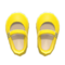 Mary Janes (Yellow) NH Icon.png