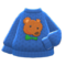 Mom's Hand-Knit Sweater (Teddy Bear) NH Icon.png