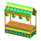 Festivale Stall (Green) NH Icon.png