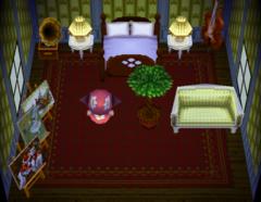 Valise's house interior