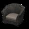 Rattan Armchair (Black) NH Icon.png