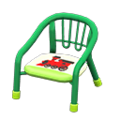 Baby Chair (Green - Train) NH Icon.png
