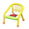 Baby Chair (Yellow - Train) NH Icon.png