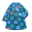 Dotted Raincoat (Blue) NH Icon.png