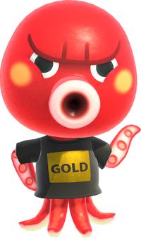 Octavian, an Animal Crossing villager.