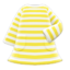 Striped Dress (Yellow) NH Icon.png