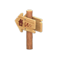 Angled Signpost (Home) NH Icon.png