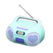Cute Music Player (Sky Blue) NH Icon.png