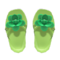 Flower Sandals (Green) NH Icon.png