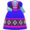 Cold-Country Dress (Blue) NH Icon.png
