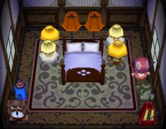 Dozer's house interior