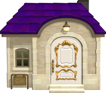 Exterior of Monique's house in Animal Crossing: New Horizons