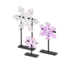 Illuminated Snowflakes (Pink)