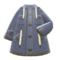 Oilskin Coat (Gray) NH Icon.png