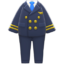 Pilot's Uniform (Black) NH Icon.png