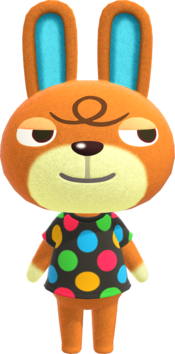 Claude, an Animal Crossing villager.