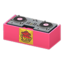 DJ's Turntable (Pink - Pop Logo)