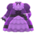 Ruffled Dress (Purple) NH Icon.png