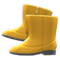 Velour Boots (Mustard) NH Icon.png