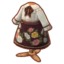 Brown Floral Skirt Outfit PC Icon.png