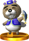 Chip SSB4 Trophy (3DS).png