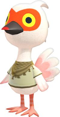 Cranston, an Animal Crossing villager.
