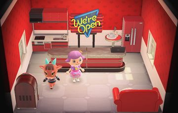 Interior of Pashmina's house in Animal Crossing: New Horizons