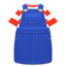 Overall Dress (Denim) NH Icon.png