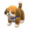 Puppy Plushie (Tricolored) NH Icon.png