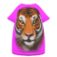 Tiger-Face Tee Dress