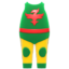 Wrestler Uniform (Green) NH Icon.png