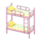 Bunk Bed (Pink - Colorful Lines) NH Icon.png
