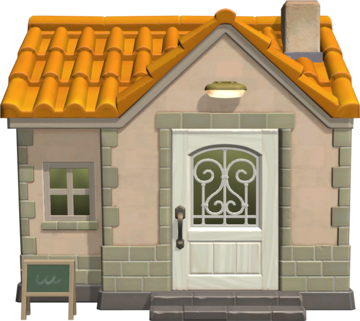 Exterior of Colton's house in Animal Crossing: New Horizons