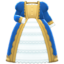 Noble Dress (Blue) NH Icon.png