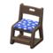 Study Chair (Dark Brown - Blue) NH Icon.png