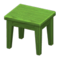 Wooden Mini Table (Green - None) NH Icon.png