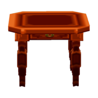 Exotic End Table