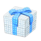 Illuminated Present (White with Blue Ribbon) NH Icon.png