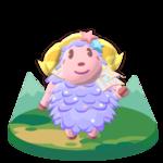 Artwork of Étoile the Sheep