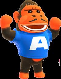 Cesar, an Animal Crossing villager.