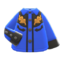 Cowboy Shirt (Blue) NH Icon.png