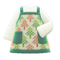 Mom's Handmade Apron (Forest Print) NH Icon.png