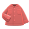 Open-Collar Shirt (Coral) NH Icon.png