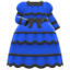 Victorian Dress (Blue) NH Icon.png