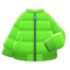 Down Jacket (Lime) NH Icon.png