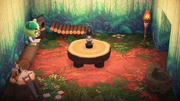 Interior of Murphy's house in Animal Crossing: New Horizons