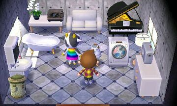 Interior of Tipper's house in Animal Crossing: New Leaf