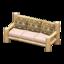 Log Extra-Long Sofa (White Wood - Bears)